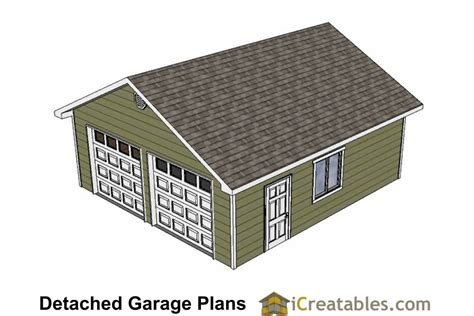 24x26 garage plans diy home improvement custom garage plans