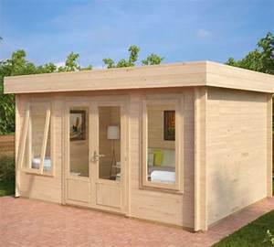 Fass Als Gartenhaus : gartenhaus als b ro jacob d 12m 40mm 3x4 hansagarten24 ~ Markanthonyermac.com Haus und Dekorationen