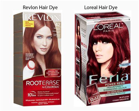 revlon vs loreal hair dye ilookwar