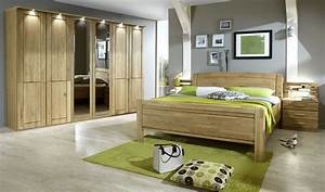 Schlafzimmer Set Massivholz : schlafzimmer eiche teilmassiv 7teilig cuman4 designerm bel moderne m bel owl ~ Markanthonyermac.com Haus und Dekorationen