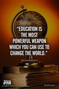 Education Is The Most Powerful Weapon Poster : 17 best images about inspiration reading list on pinterest setting goals nelson mandela and ~ Markanthonyermac.com Haus und Dekorationen