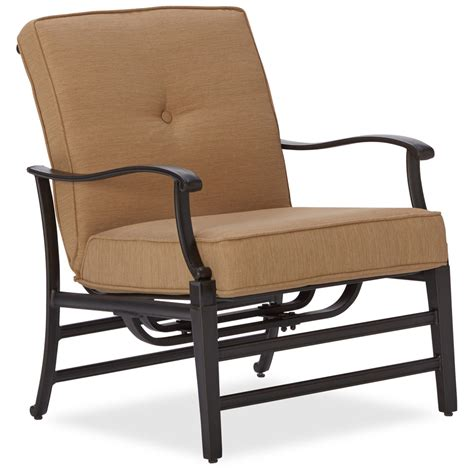 strathwood whidbey cast aluminum seating