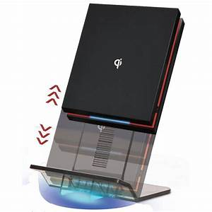Tablet Qi Laden : ntw airenergy wpc certified qi wireless charging pad with detachable elevator stand black ~ Markanthonyermac.com Haus und Dekorationen
