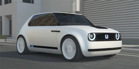 Honda Unveils New Electric Car Concept For Production In