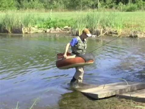 Round Belly Boat by Float Tubing Youtube