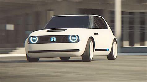 Honda Urban Ev Electric Driving Video World Premier New