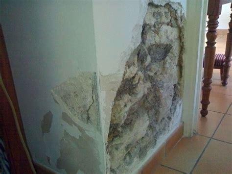 salpetre mur comment traiter le salpetre sur un mur exterieur with salpetre mur beautiful