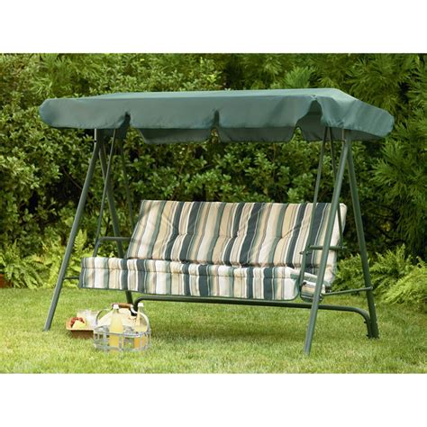 sears garden oasis 3 person swing replacement canopy garden winds canada