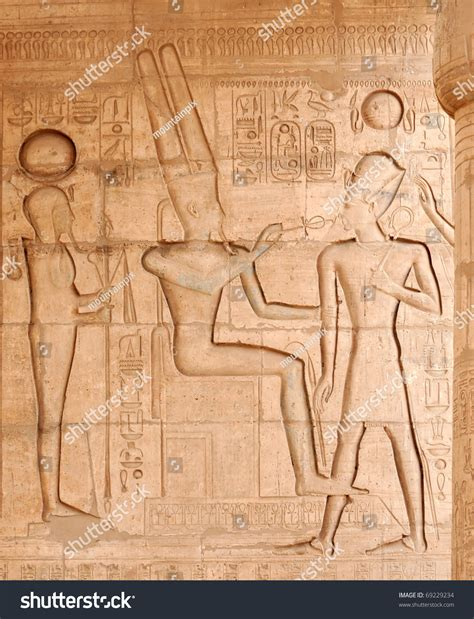 The Ancient Egyptian God Of The Underworld, Osiris, Giving
