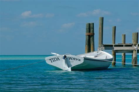 Boat Blow Up In Exuma by Staniel Cay Make Like An Ape Man