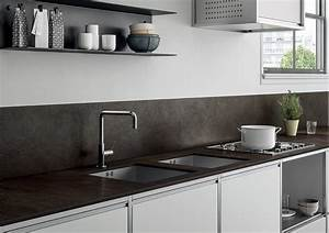 Schwarze Arbeitsplatte Küche : hochwertige keramik arbeitsplatten f r k che mit modernem design ~ Markanthonyermac.com Haus und Dekorationen