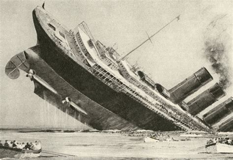 what sunk the lusitania if you think it was a torpedo think again worldatlas