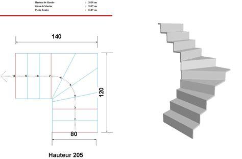 aide au calcul de mon escalier quart tournant bas svp 13 messages