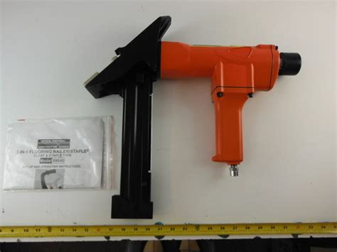 central pneumatic contractor series item 99640 flooring nailer and stapler ebay