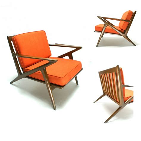 The 60s Mid Century Modern Danish Selig Poul Jensen Z Chair