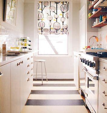 modern 24 seven galley kitchen