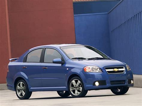 Chevrolet Aveo/kalos Sedan Specs