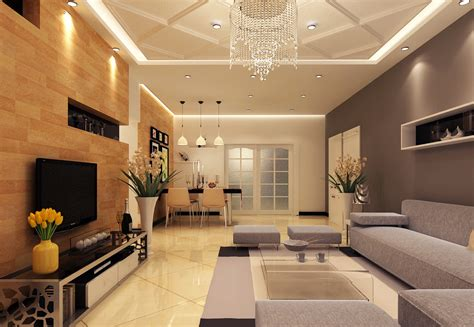 Simple And Modern Living Room Design