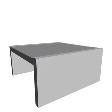 Expedit Coffee Table  Design And Decorate Your Room In 3d