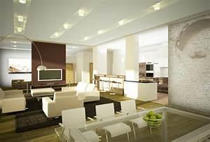 Beleuchtung Im Wohnzimmer : moderne wohnzimmer beleuchtung ~ Markanthonyermac.com Haus und Dekorationen