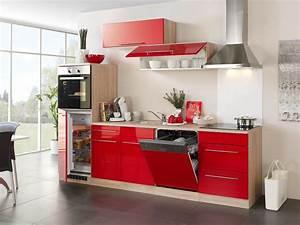 Küche Rot Streichen : k chenzeile husum k che mit e ger ten breite 280 cm hochglanz rot k che k chenzeilen ~ Markanthonyermac.com Haus und Dekorationen