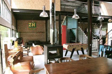 maison loft transformation d une usine en loft industriel salle de s 233 jour autres