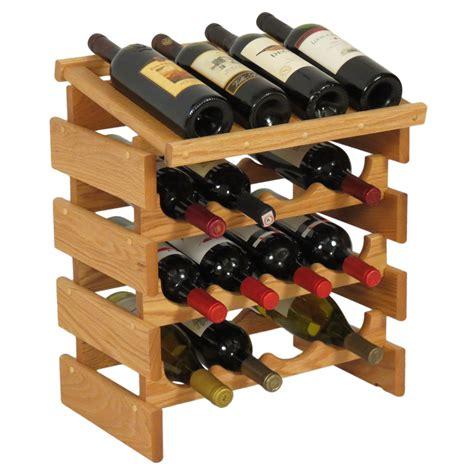 16 Bottle Wine Display Rack In Wine Racks