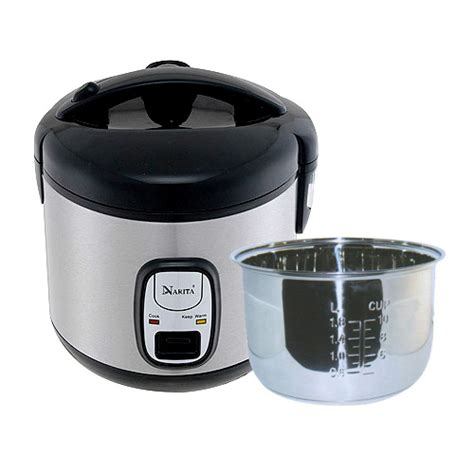 10 cup rice cooker stainless steel inner pan