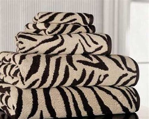 Zebra Print Bathroom Decor Zebra Prints And Decorative Patterns For Modern Bathroom