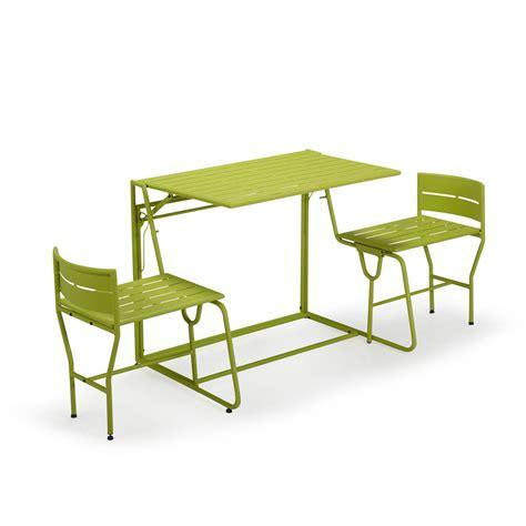 picnic le salon de jardin balcon transformable 2 en 1 guten morgwen