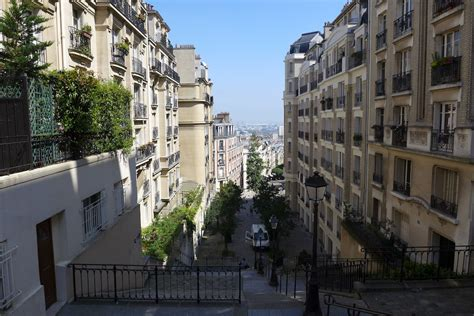 up and the butte montmartre morning the