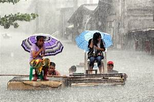 Heavy rain and flood in Philippines severely impacts ...
