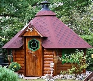Basteltipps Für Den Garten : eine grillh tte f r den garten ~ Markanthonyermac.com Haus und Dekorationen