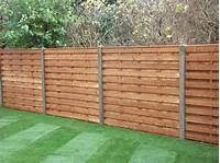 privacy fence panels Fencing Panels Concrete Posts - Fence Panel SuppliersFence ...