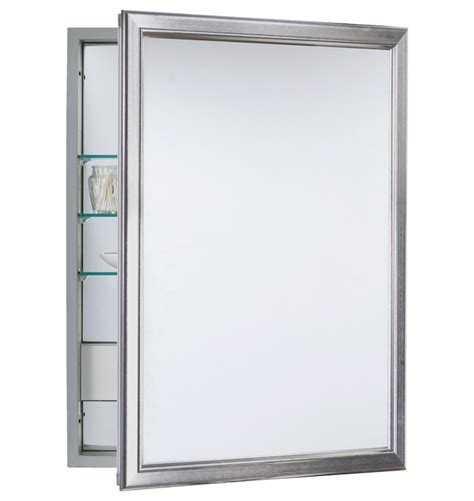medicine cabinets glamorous brushed nickel medicine