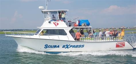 Deck Boats For Sale Myrtle Beach by Our Dive Boat Express Watersports