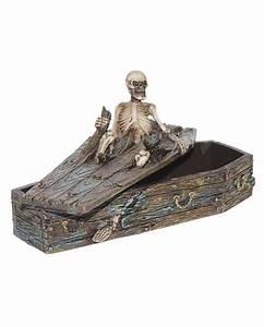 Deko Sarg Halloween : ausbrechendes skelett in sarg box sarg schmuckk stchen horror ~ Markanthonyermac.com Haus und Dekorationen