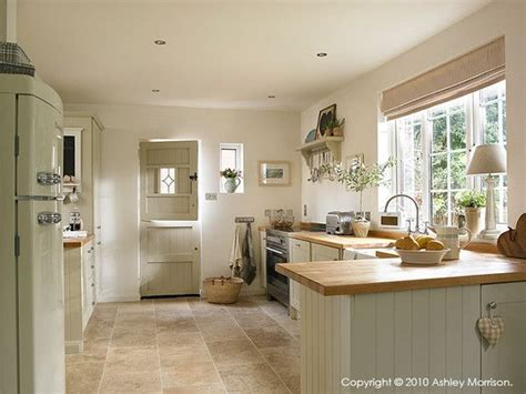 Country Kitchen  Cupboards Painted In Farrow And Ball