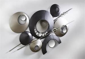 Metall Deko Wand : xxl metall wand bild wohnraum deko wandschmuck dekoration design modern luxus ebay ~ Markanthonyermac.com Haus und Dekorationen