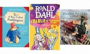 The UK's favourite children's books have been revealed