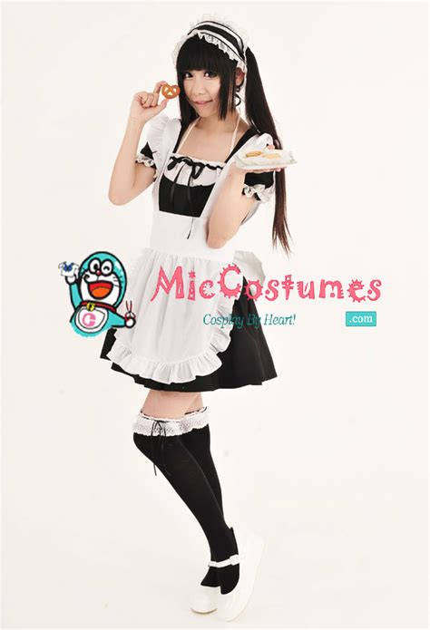Classic Japanese Maid Cafe Costume by miccostumes on deviantART