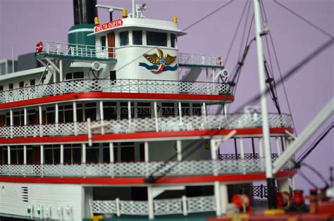 Delta Queen Boat by High Detail Model Of The Delta Queen Steamboat