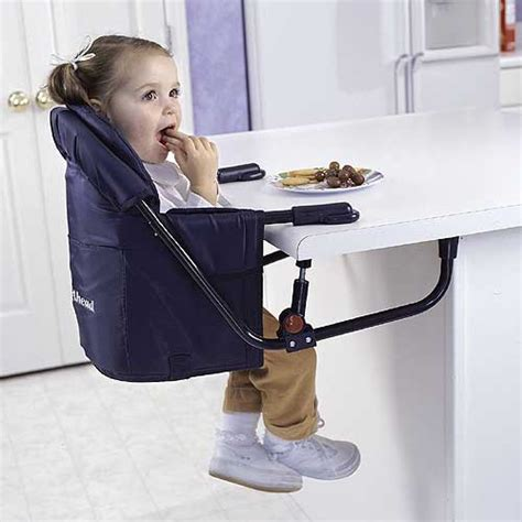 new easy diner blue portable hook on table travel baby