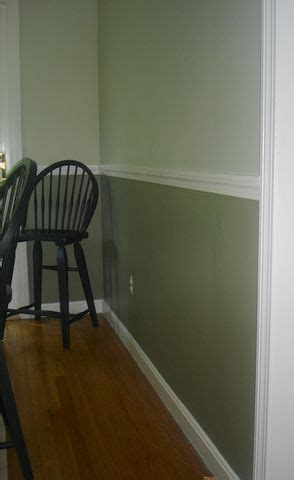wall paint with chair rail search b
