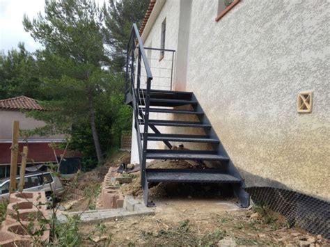 fabrication d un escalier en fer a aubagne ferronnerie devey