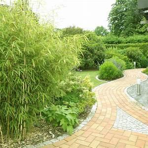 Bambus Im Garten : gartenweg mit bambus ~ Markanthonyermac.com Haus und Dekorationen