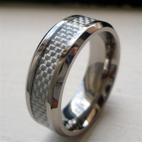 8mm Men's Titanium White Carbon Fiber Wedding Band Ring. Fake Plastic Rings. Celtic Knot Wedding Rings. Teardrop Engagement Engagement Rings. Gear Wedding Rings. Maroon Rings. Pressure Engagement Rings. Sculpted Wedding Rings. Clover Rings