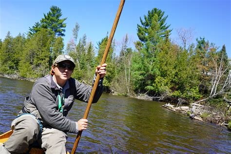 Au Sable River Boat by Fly Fishing The Au Sable River In Grayling Michigan