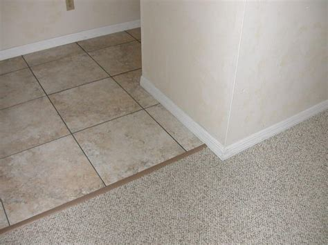 rubber tile to carpet transition from terry s diy forums great site by the way