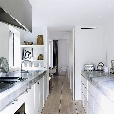 narrow kitchen small kitchens modern kitchens